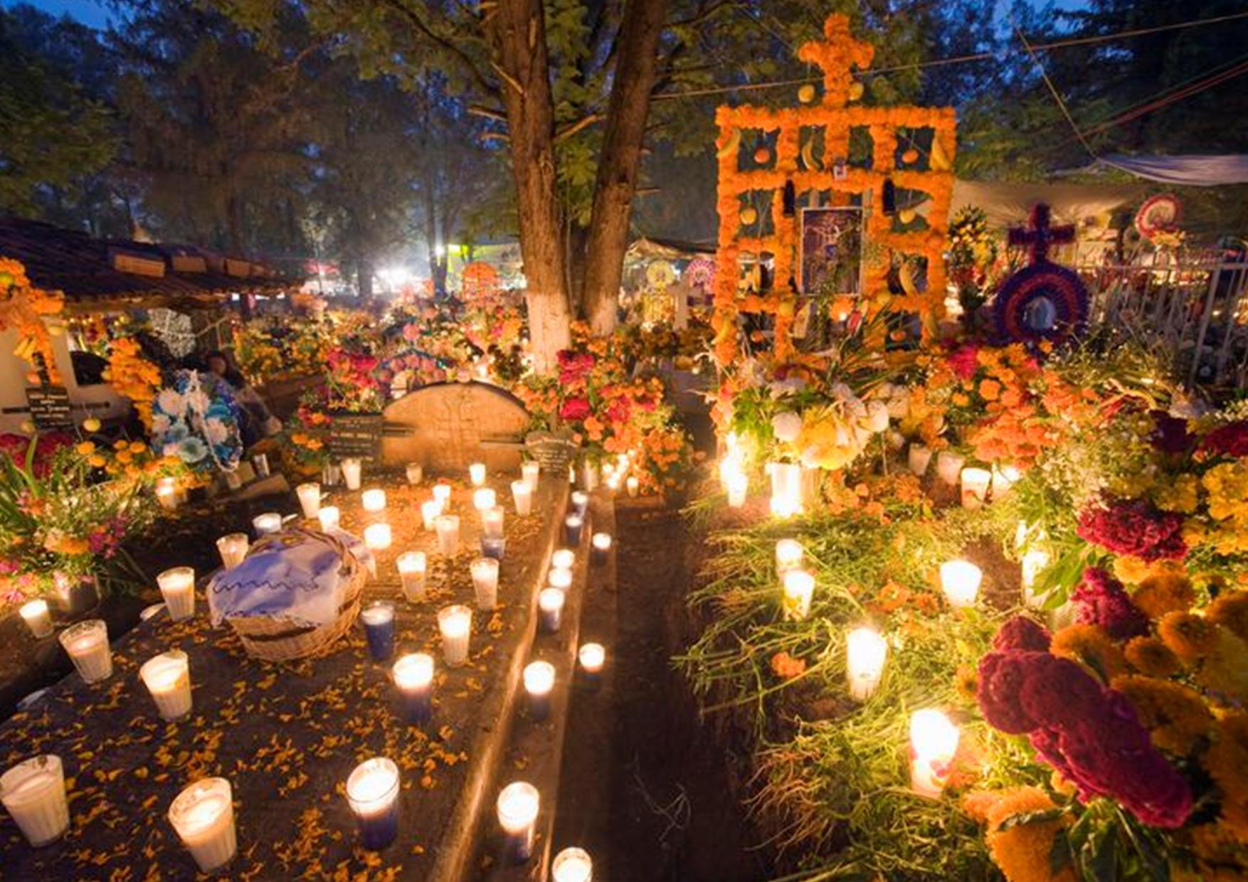 El Día de Muertos es una celebración tradicional de origen mesoamericano