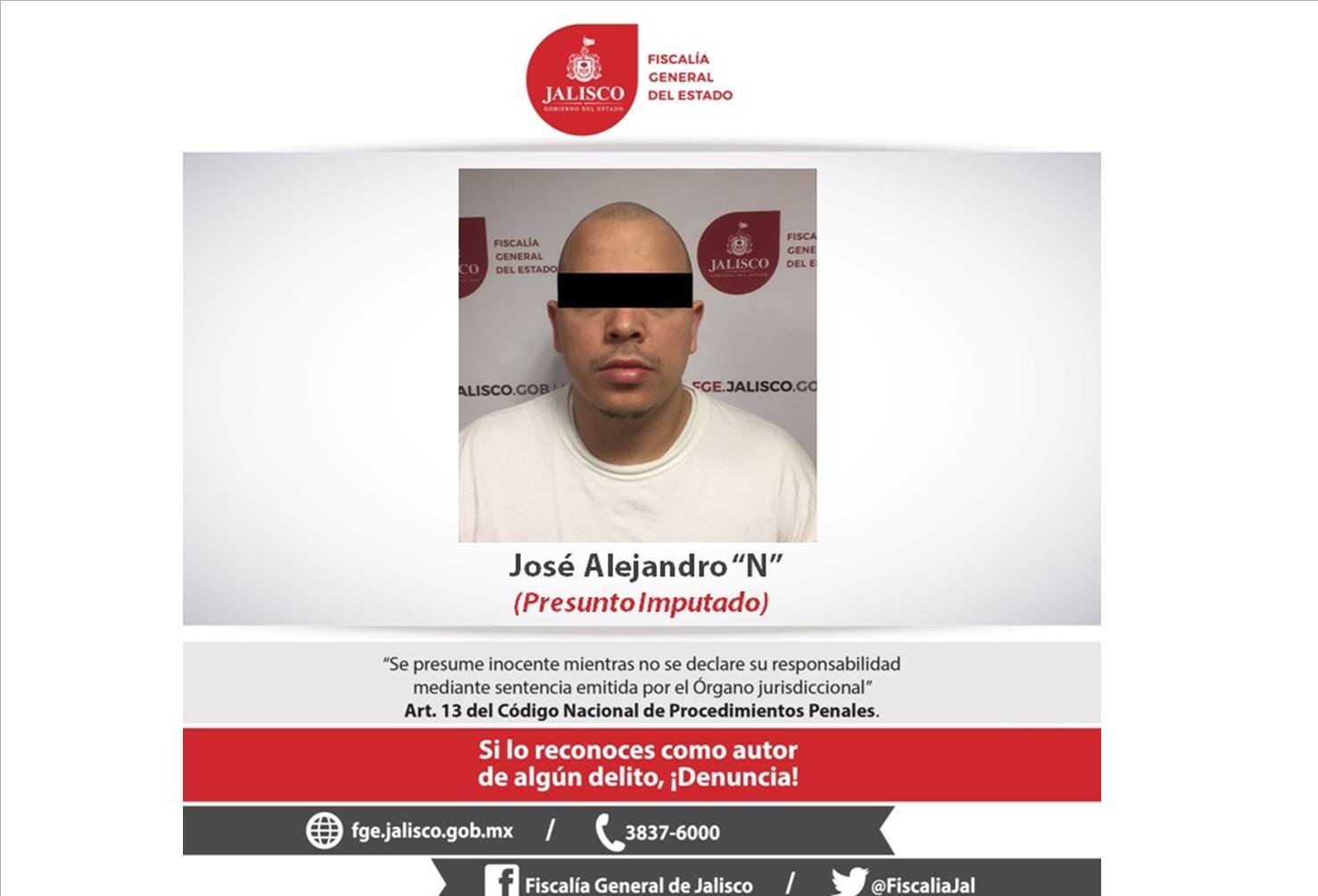 Deportan de los EUA a sujeto que era buscado en Jalisco por homicidio; Fiscalía del Estado le cumplimenta orden de aprehensión
