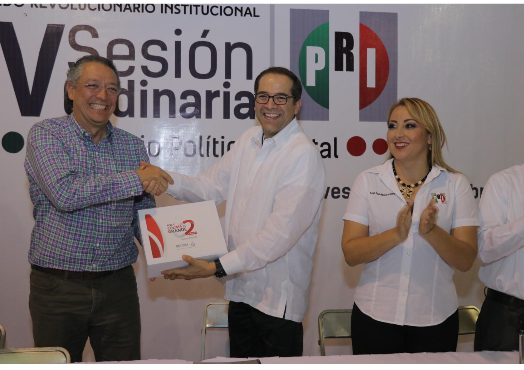 El PRI impulsa los grandes cambios del país y por ello triunfará en el 2018: Peralta Sánchez