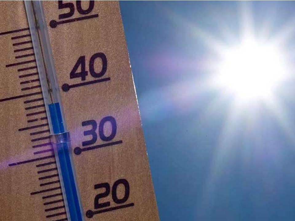 Pronostican ambiente de caluroso a muy caluroso en 22 estados del país