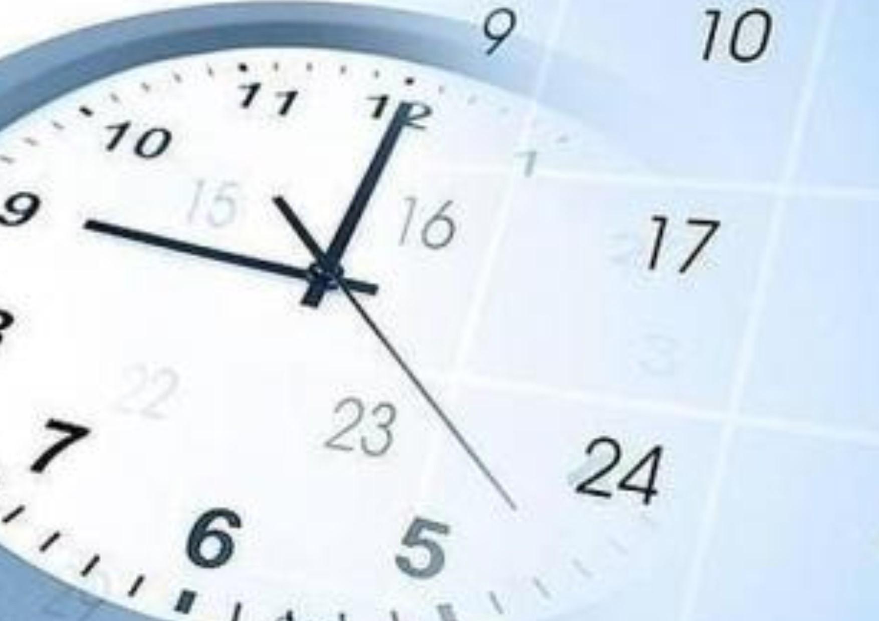 Horario de Verano en la República Mexicana concluye este domingo 29 de octubre