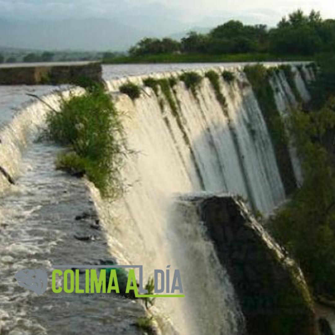 Presas en Colima se encuentran en los límites de su capacidad de almacenamiento de agua
