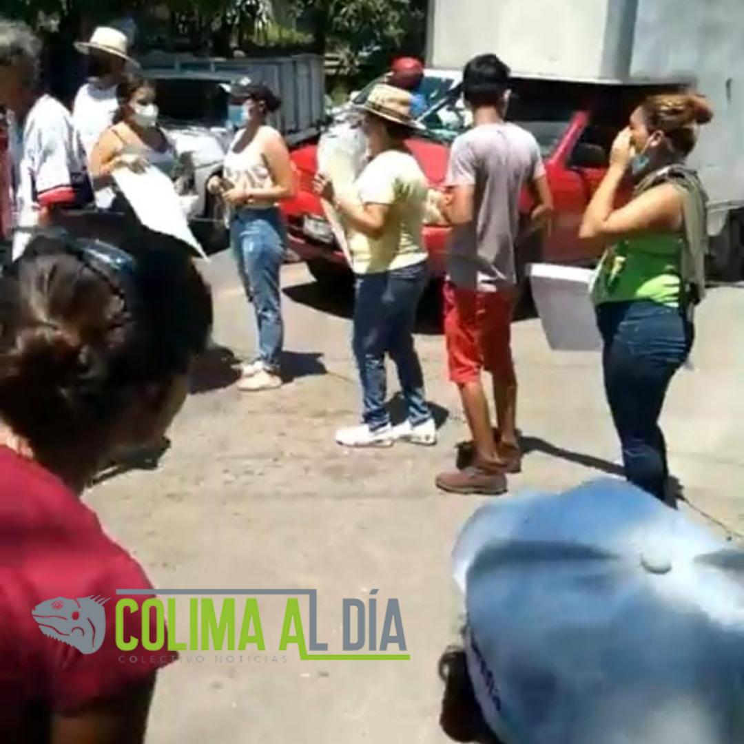 Pobladores de Armería, exigen agua, bloquean la carretera libre Armería-Manzanillo