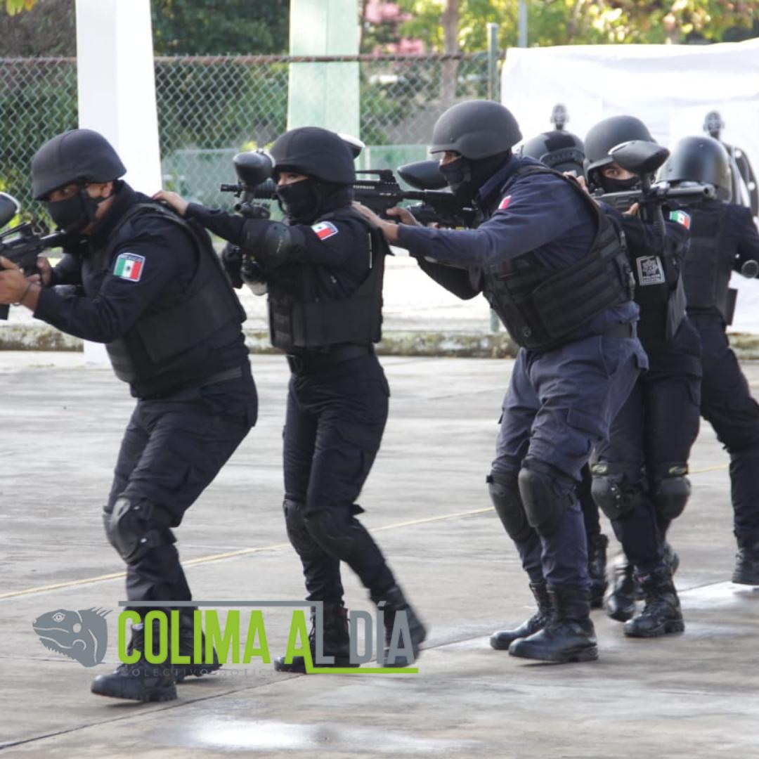 Reconoce secretario de gobierno la labor de los policías