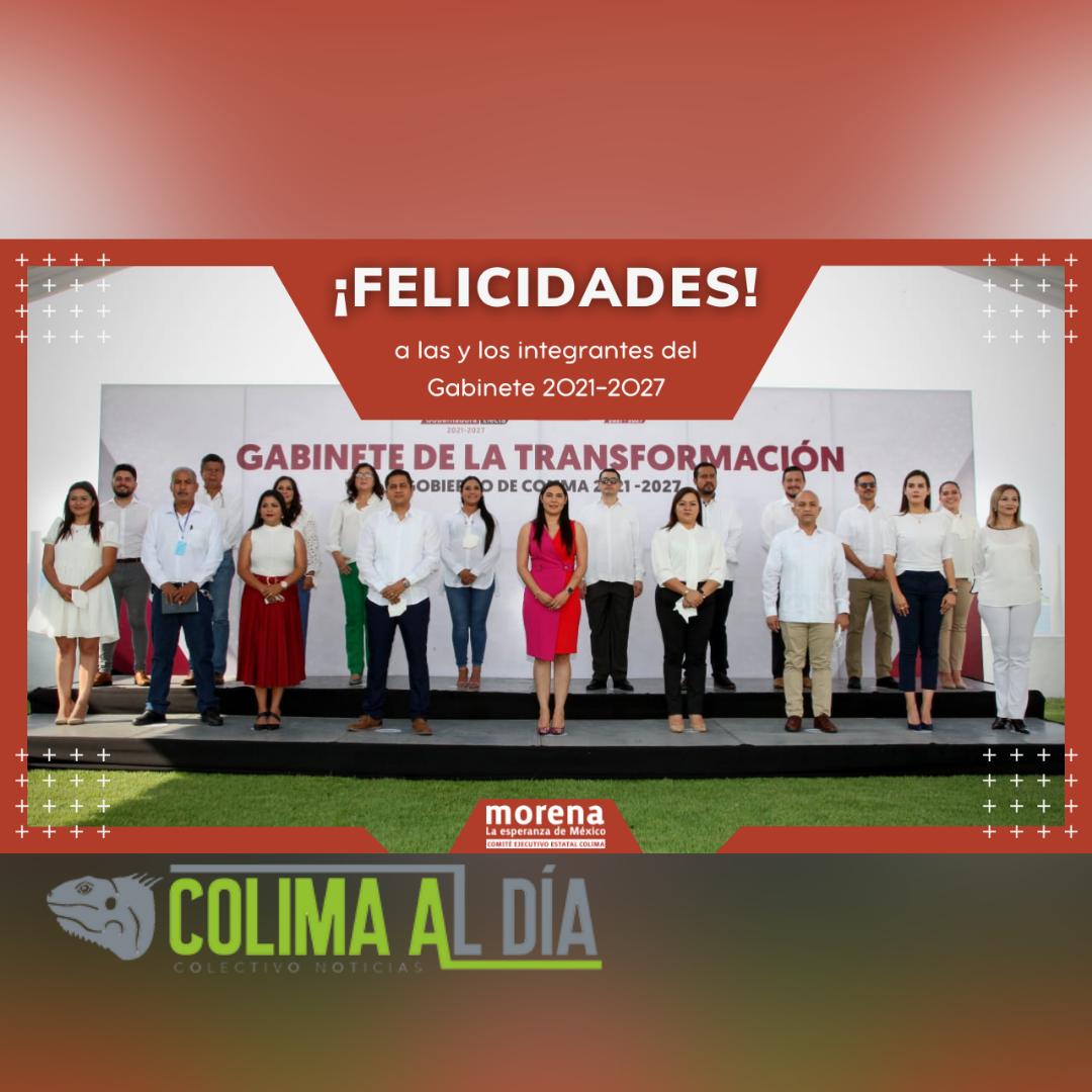 Gabinete de Indira abonará a consolidación de la 4T en Colima: CEE morena
