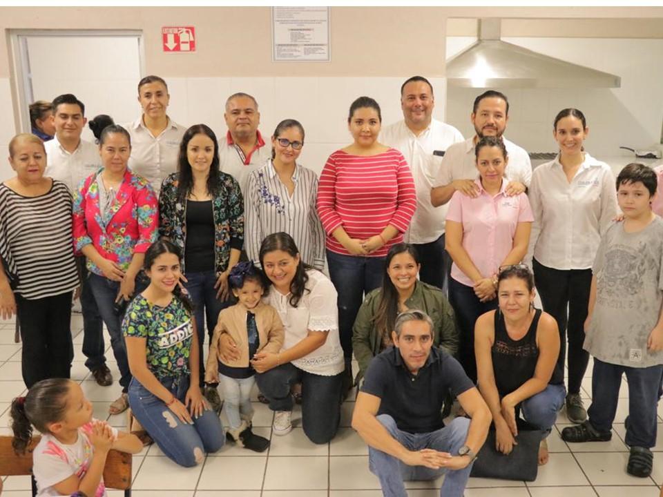 """Participa voluntariado de la CGCS en  la campaña """"Cenando y Acompañando"""""""