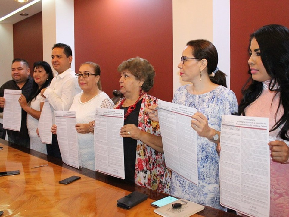 El Congreso del Estado emite convocatoria para elegir al titular de  Derechos Humanos