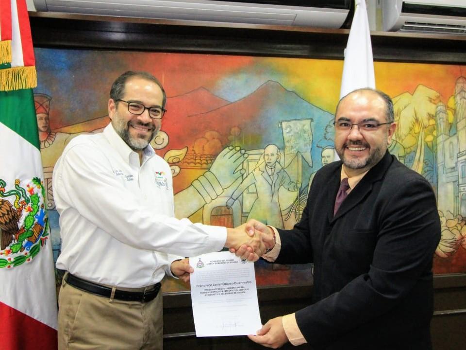 Gobernador designa presidente  y secretario ejecutivo de Copip