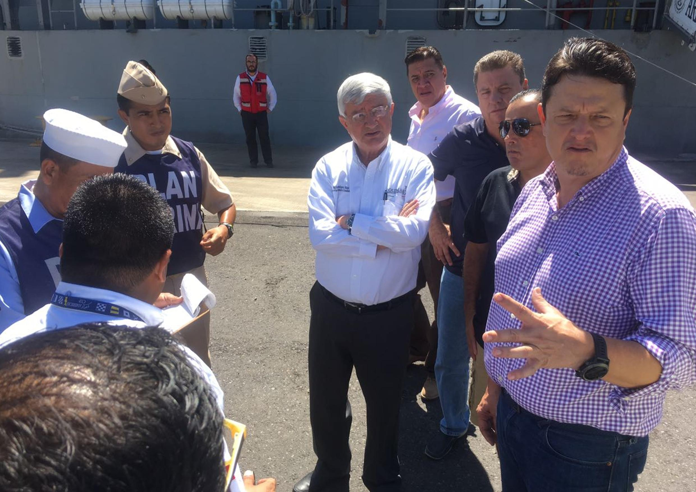 Empresarios colimenses envían 2.5 toneladas de atún a Oaxaca