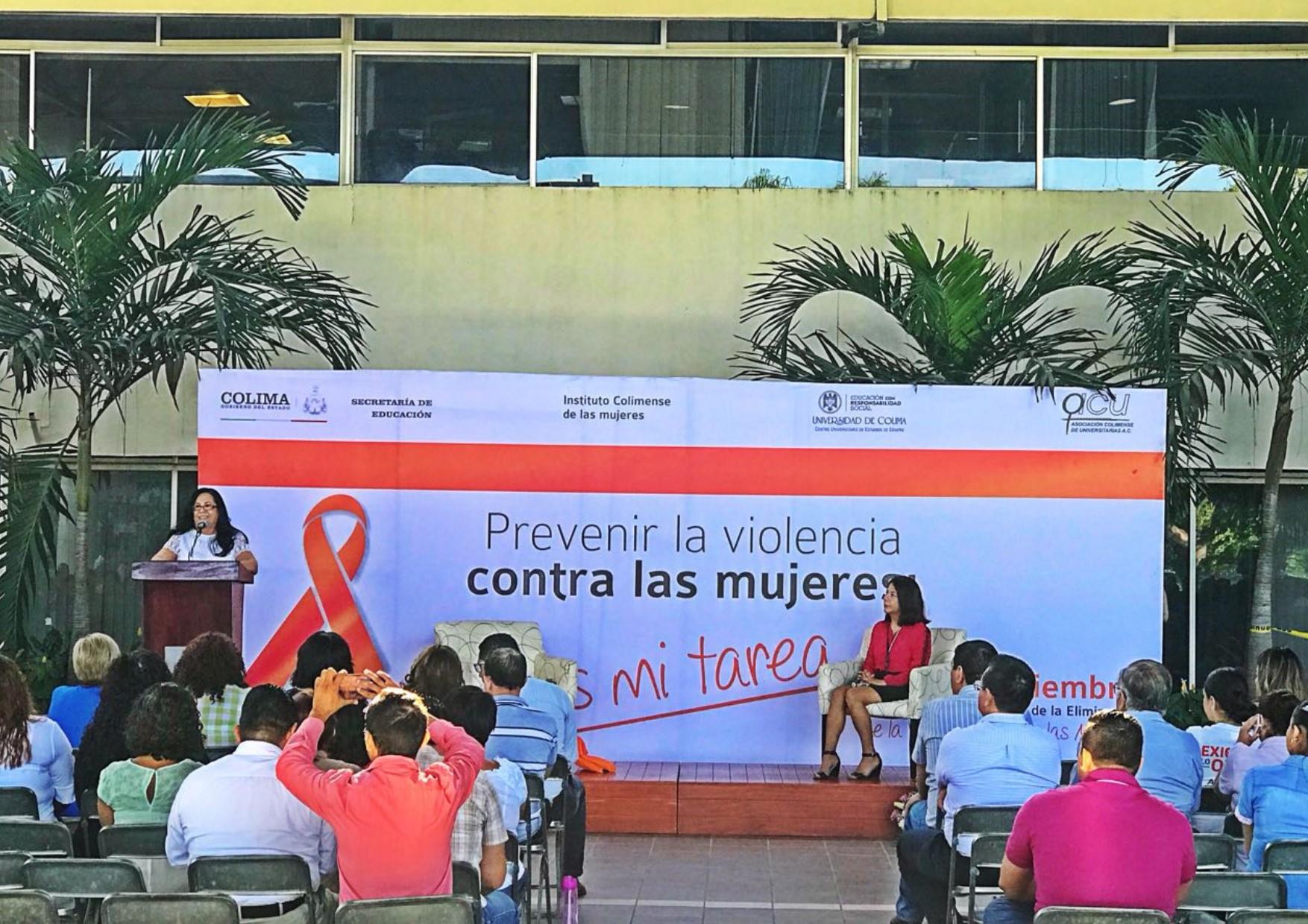 Concientizan a trabajadores de Educación sobre prevención de violencia contra la mujer