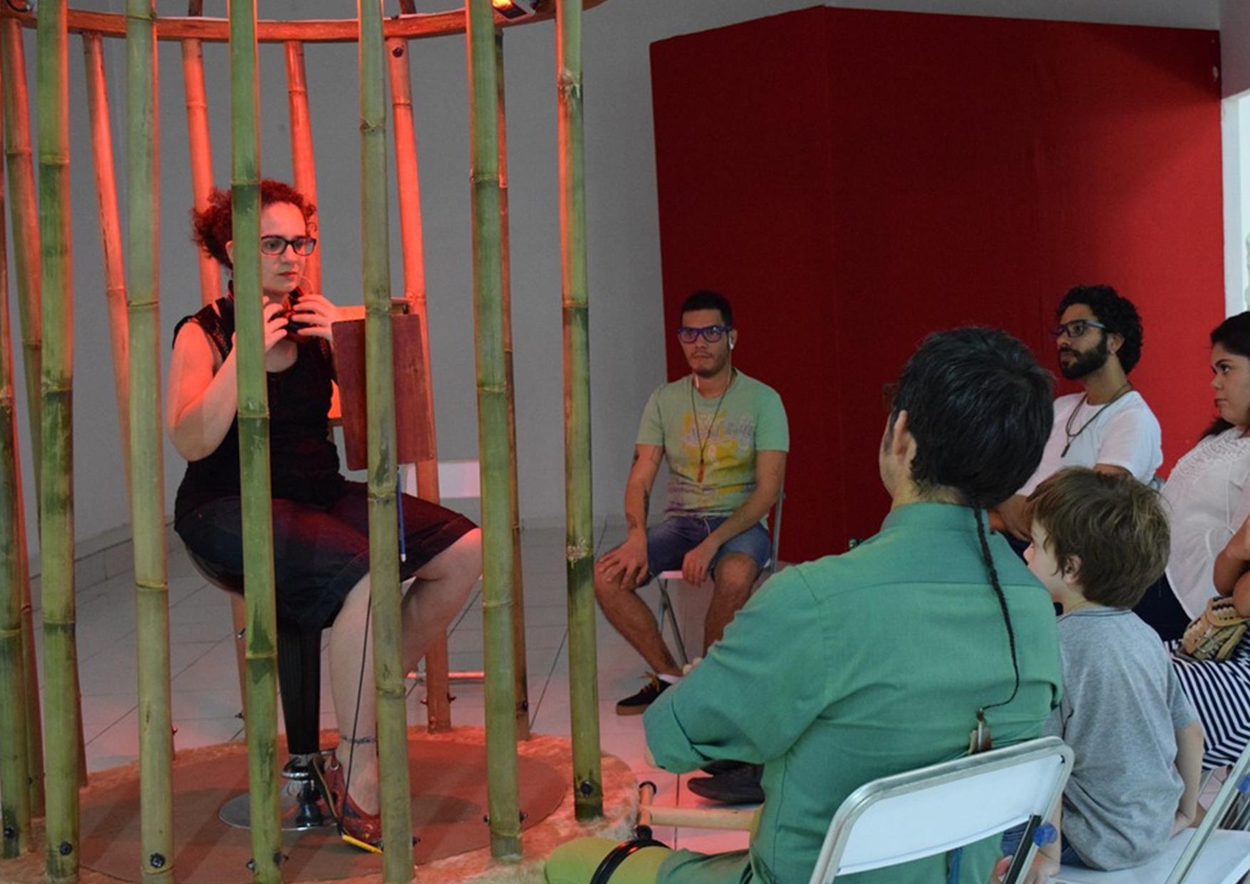 """Francisco Lozano presentó """"colector de paz"""", proyecto de teatro participativo"""