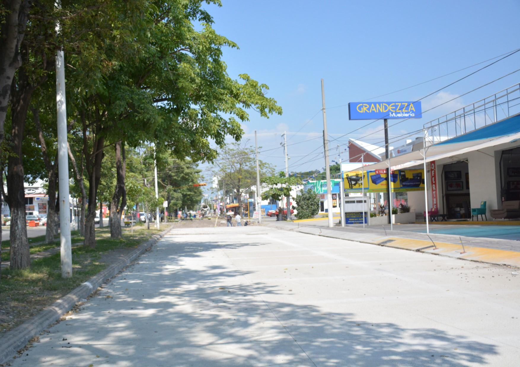 Reaperturan Carril Sur-Norte de Benito Juárez a final del mes de Noviembre